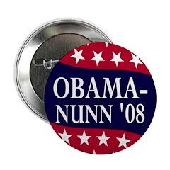 "Obama-Nunn 2008 2.25"" Button"