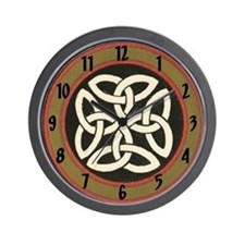 Traditional Celtic Knot Wall Clock