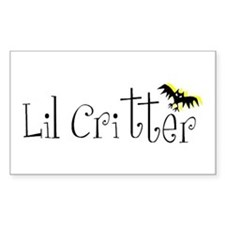 Lil Critter Rectangle Decal
