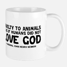 Quote - Newman - Love God Mug