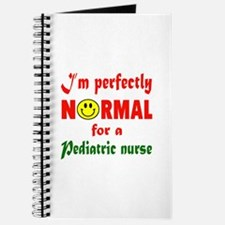 I'm perfectly normal for a Pediatric Nurse Journal
