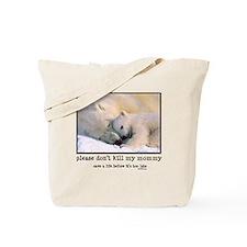 Save the Polar Bears Tote Bag