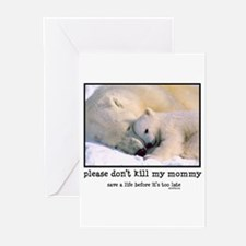 Save the Polar Bears Greeting Cards (Pk of 20)