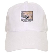 Save the Polar Bears Baseball Baseball Cap