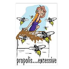 Bee Glue Postcards (Package of 8)