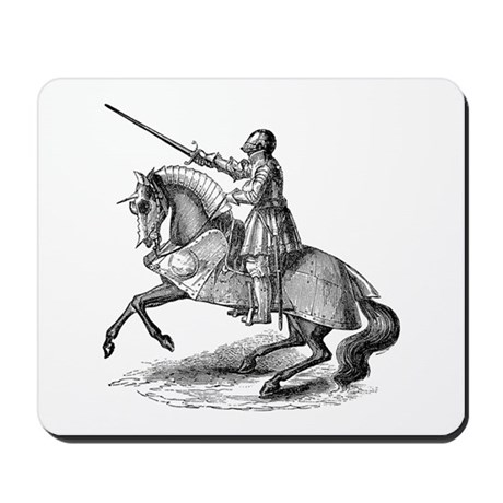 Knight 4 Mousepad