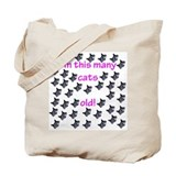 40 cats Canvas Bags