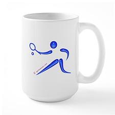 Tennis Blue Mug