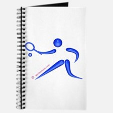Tennis Blue Journal