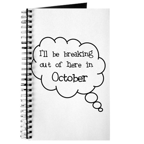 """""""Breaking Out October"""" Journal"""