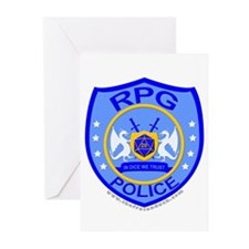 RPG Police Greeting Cards (Pk of 20)