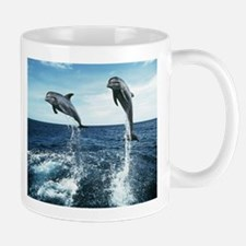 Dolphins In The Ocean Mug