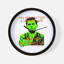Wittgenstein Green Wall Clock