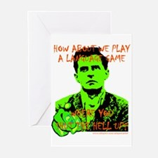 Wittgenstein Green Greeting Cards (Pk of 10)