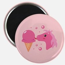 Ice Cream Pony Magnet