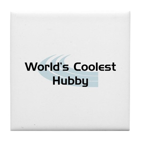 WC Hubby Tile Coaster