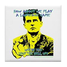 Wittgenstein Yellow Tile Coaster