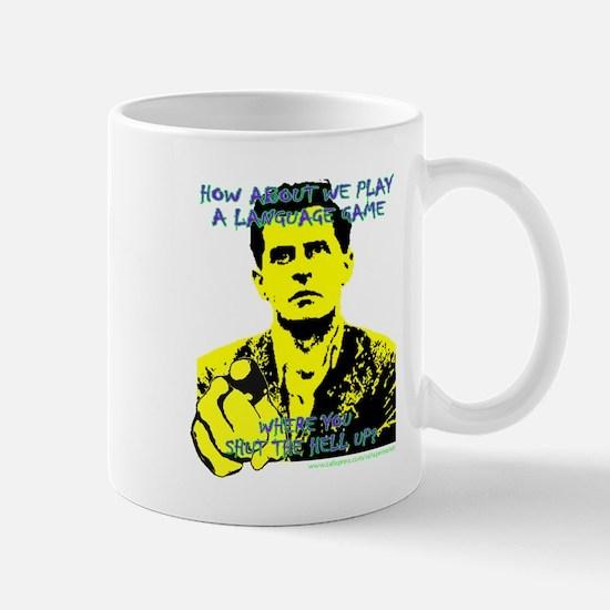 Wittgenstein Yellow Mug