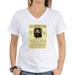 Davy Crockett Women's V-Neck T-Shirt