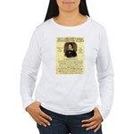 Davy Crockett Women's Long Sleeve T-Shirt
