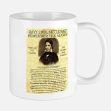 Davy Crockett Small Small Mug