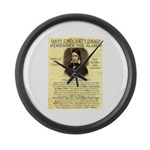 Davy Crockett Giant Clock