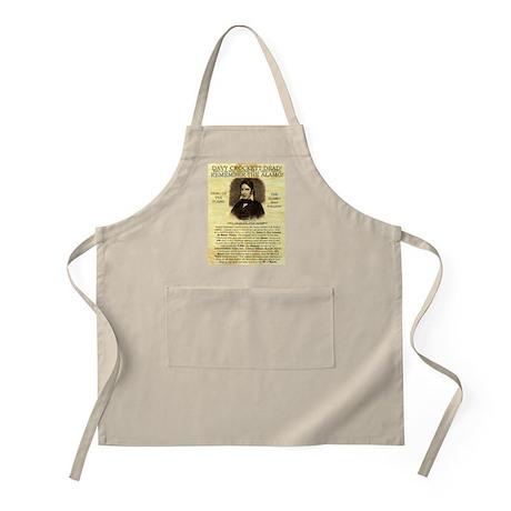 Davy Crockett BBQ Apron