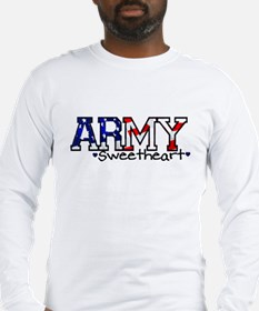 Army Sweetheart Long Sleeve T-Shirt