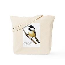Black-Capped Chickadee Tote Bag