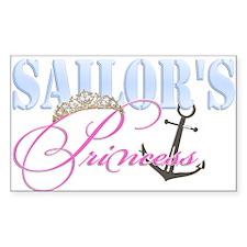 Sailor's Princess Rectangle Decal