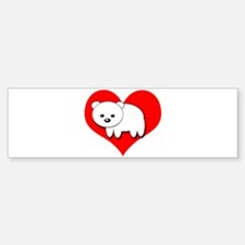 Polar Bear Bumper Sticker (10 pk)