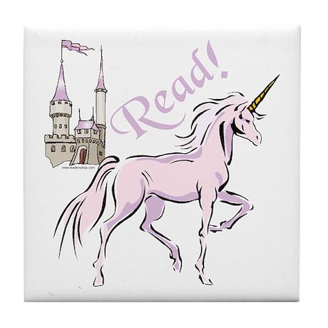 Read! Fantasy Tile Coaster