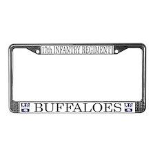17th Regiment License Plate Frame