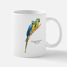 Blue & Yellow Macaws Mug