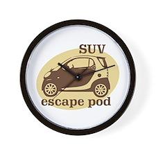 SUV Escape Pod Wall Clock