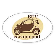 SUV Escape Pod Oval Decal