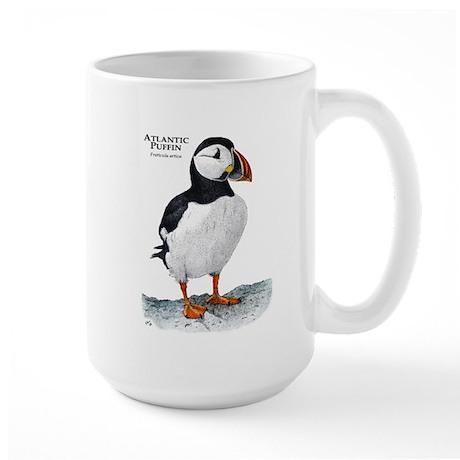 Atlantic Puffin Large Mug