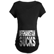 Afghanistan Sucks Maternity Dark T-Shirt