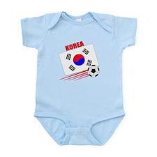 Korea Soccer Team Infant Bodysuit