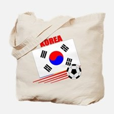 Korea Soccer Team Tote Bag