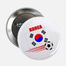 "Korea Soccer Team 2.25"" Button (10 pack)"