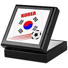 Korea Soccer Team Keepsake Box
