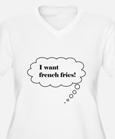 Baby French Fry Thoughts T-Shirt