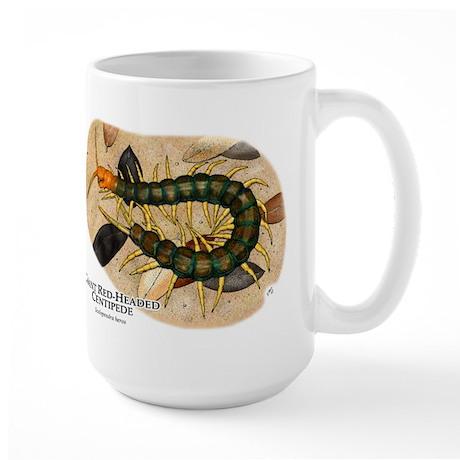 Giant Red-Headed Centipede Large Mug