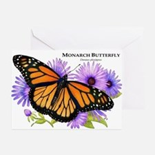 Monarch Butterfly Greeting Cards (Pk of 10)