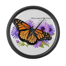 Monarch Butterfly Giant Clock