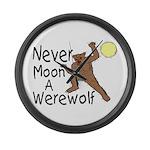 Moon A Werewolf Giant Clock