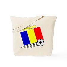 Romanian Soccer Team Tote Bag
