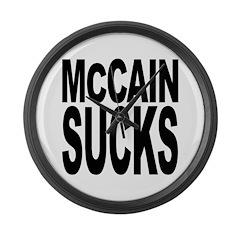 McCain Sucks Giant Clock