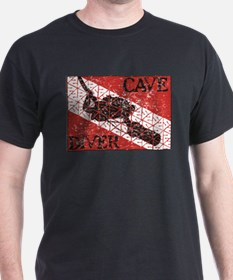 CAVE DIVER SCOOTER 1 T-Shirt
